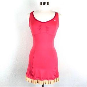 Nike Dri-Fit Pink Sleeveless Athletic Dress